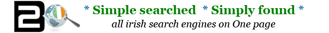 All Irish Search Engines on 1 page Ireland Startpage WebSearch Contact